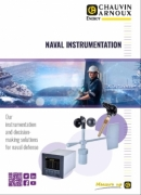 Commercial documentation, marine offer, wind measurement, seawater temperature measurement, probes, Chauvin Anoux Energy, sensors, indicators