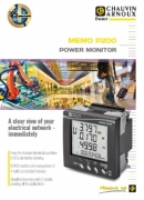 Messzentrale MEMO P200 Chauvin Arnoux Energy
