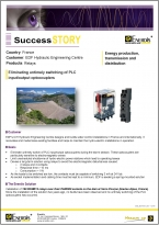 Success Story EDF Chauvin Arnoux Energy Relays