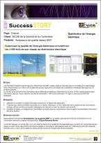 Success Story SICAE Analyseurs de qualité réseau MAP